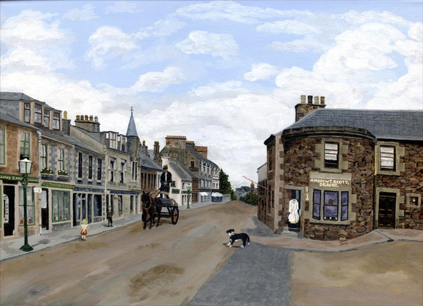 Selkirk High Street