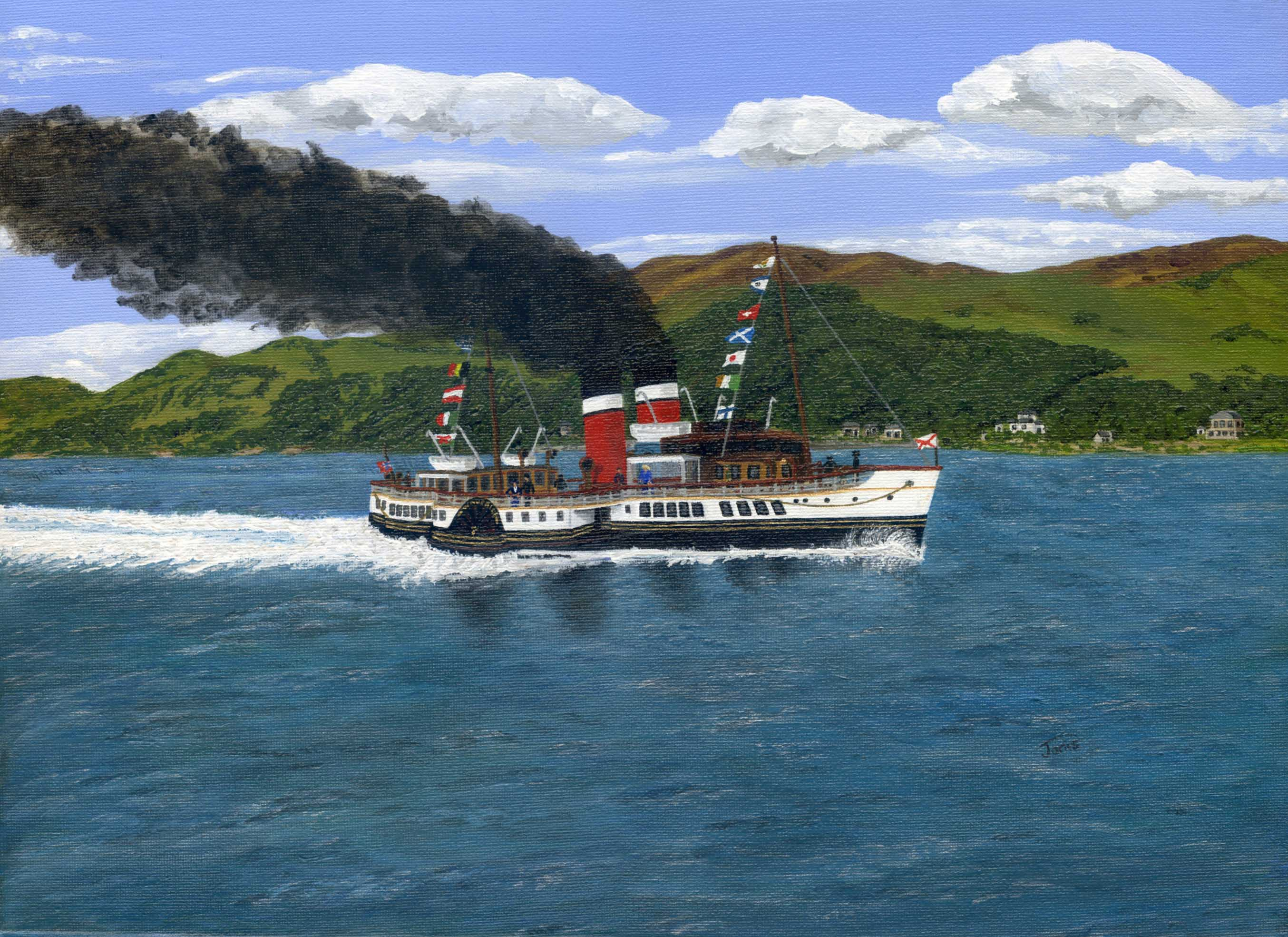 PS Waverley 1947