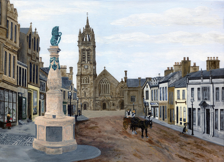 Peebles High Street